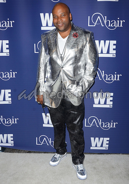 "14 July 2015 - Hollywood, California - Terry Hunt. Arrivals for WE Tv's ""L.A. Hair"" premiere party held at Avalon Hollywood. Photo Credit: Birdie Thompson/AdMedia"