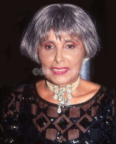#LenaHorne 1991<br /> Photo by John Barrett/PHOTOlink.net / MediaPunch