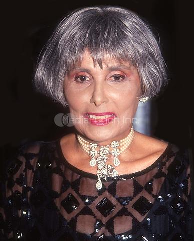 #LenaHorne 1991<br /> Photo by John Barrett/PHOTOlink.net / MediaPunch