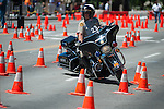 A Contra Costa County Sheriff's officer competes during Legends of the West in Carson City, Nev., on Saturday June 22, 2013.<br /> (Photo by Kevin Clifford/Nevada Photo Source)