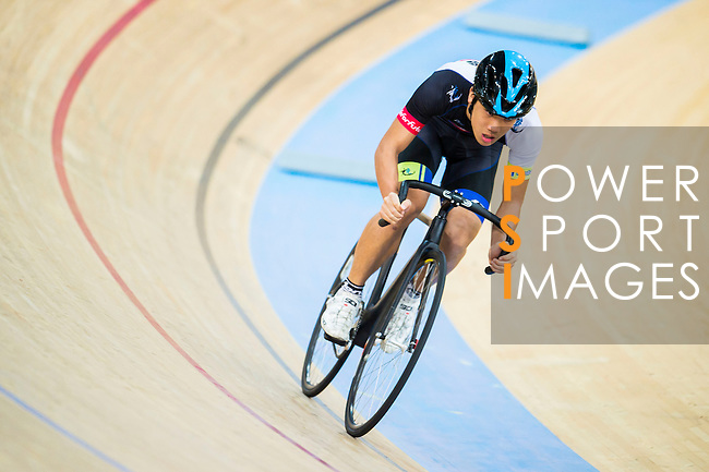 Chan Chi Yin of CMS in action during the  Youth 11-13 1km Time Trial (Qualifying) at the Hong Kong Track Cycling Race 2017 Series 5 on 18 February 2017 at the Hong Kong Velodrome in Hong Kong, China. Photo by Marcio Rodrigo Machado / Power Sport Images