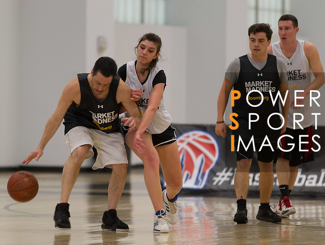 Market Madness 3 on 3 Basketball Tournament, Basketball City, Pier 36, 299 South Street, New York, USA. 30th March 2016. Photo by Tim Clayton / Power Sport Images