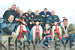 At Sunday's Honda 50 Fun Run in Athea was front l-r Pat Hayes, John Scanlon, Padraig Stack, Conor Prendiville, Pat Stack and Martin Prendiville. Back l-r Maurice and Danny Mahoney, Timmy Kelly and Denis Hayes.