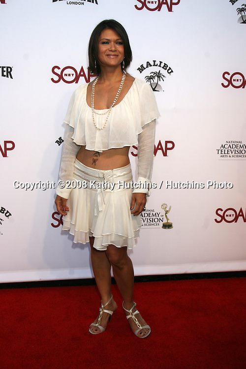 "Nia Peeples arriving at the SoapNet ""Night Before Party"" for the nominees of the 2008 Daytime Emmy Awards at Crimson & Opera in Hollywood, CA.June 19, 2008.©2008 Kathy Hutchins / Hutchins Photo ."