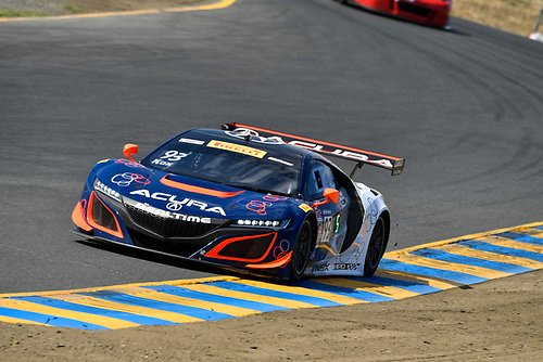 Pirelli World Challenge<br /> Grand Prix of Sonoma<br /> Sonoma Raceway, Sonoma, CA USA<br /> Friday 15 September 2017<br /> Peter Kox<br /> World Copyright: Richard Dole<br /> LAT Images<br /> ref: Digital Image RD_NOCAL_17_008