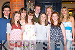 Enjoying themselves at the Gneeveguilla AC social in Darby O'Gills on Friday night l-r: Jamie Buckley, Niamh Joy, Grainne Dineen, Julia McCarthy, James Campion, Emer Foley, Bridget Dineen, Marie O'Doherty and Aneta Poluch all Gneeveguilla   Copyright Kerry's Eye 2008