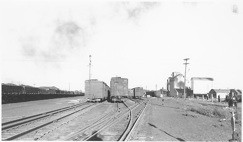 Mixed-gauge scene in the west D&amp;RGW Alamosa yard.<br /> D&amp;RGW  Alamosa, CO  Taken by Richardson, Robert W. - 9/9/1946