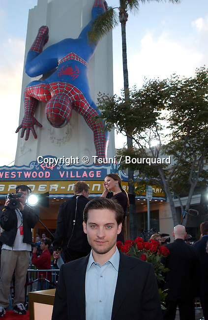 Tobey Maguire arrive for the premiere of 'Spider Man' at the Mann Village in Westwood, Los Angeles. April 29, 2002.          -            MaguireToby01.jpg