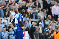 A dejected Tiemoue Bakayoko of Chelsea during Newcastle United vs Chelsea, Premier League Football at St. James' Park on 13th May 2018