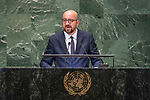 LOS general debate – 27 September<br /> <br /> PM<br /> <br /> His Excellency Charles Michel, Prime Minister, Kingdom of Belgium