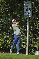 Tyrell Hatton (ENG) watches his tee shot on 2 during round 3 of the World Golf Championships, Mexico, Club De Golf Chapultepec, Mexico City, Mexico. 3/3/2018.<br /> Picture: Golffile | Ken Murray<br /> <br /> <br /> All photo usage must carry mandatory copyright credit (&copy; Golffile | Ken Murray)
