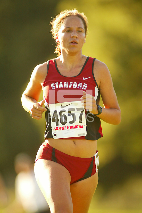 24 September 2005: Lauren Centrowitz during the Stanford Invitational at the Stanford Golf Course in Stanford, CA.