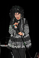 BLACKPOOL, ENGLAND - AUGUST 6: Lene Lovich performing at Rebellion Festival, Winter Gardens on August 6, 2017 in Blackpool, England.<br /> CAP/MAR<br /> &copy;MAR/Capital Pictures