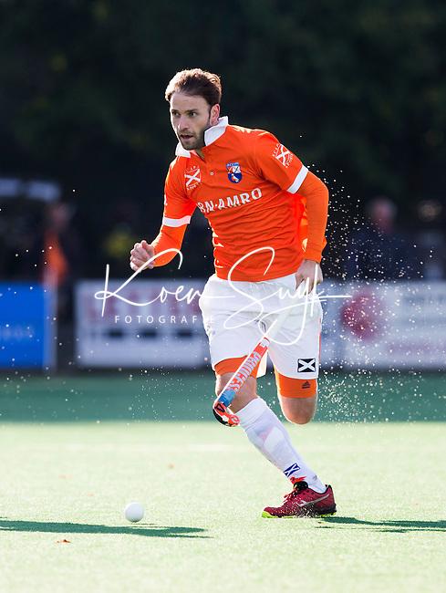 BLOEMENDAAL - HOCKEY - Rogier Hofman van Bloemendaal tijdens   de hoofdklasse competitie wedstrijd tussen de mannen van Bloemendaal en Hurley (1-1) . COPYRIGHT KOEN SUYK