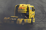 Spanish driver Alberto Mila Monteserin belonging Spanish team Alberto Mila Monteserin during the third race R3 of the XXX Spain GP Camion of the FIA European Truck Racing Championship 2016 in Madrid. October 02, 2016. (ALTERPHOTOS/Rodrigo Jimenez)