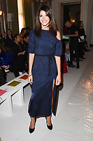 Natalie Anderson at the Jasper Conran Spring Summer 2018 show as part of London Fashion Week, London, UK. <br /> 16 September  2017<br /> Picture: Steve Vas/Featureflash/SilverHub 0208 004 5359 sales@silverhubmedia.com
