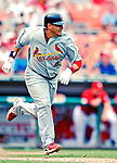 5 August 2007: St. Louis Cardinals catcher Yadier Molina in action against the Washington Nationals at RFK Stadium in Washington, DC. The Nationals defeated the Cardinals 6-3 to sweep their 3-game series...Mandatory Photo Credit: Ed Wolfstein Photo