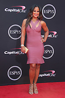 LOS ANGELES, CA - JULY 12: Laila Ali at The 25th ESPYS at the Microsoft Theatre in Los Angeles, California on July 12, 2017. Credit: Faye Sadou/MediaPunch
