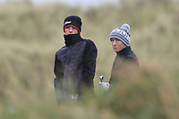 Luke O'Neill (Connemara) on the 13th tee during Round 2 of the Ulster Boys Championship at Portrush Golf Club, Portrush, Co. Antrim on the Valley course on Wednesday 31st Oct 2018.<br /> Picture:  Thos Caffrey / www.golffile.ie<br /> <br /> All photo usage must carry mandatory copyright credit (&copy; Golffile | Thos Caffrey)