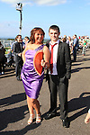 Annette and Stephen Maguire from Collon at the Bellewstown Races 2011...(Photo credit should read Jenny Matthews www.newsfile.ie)....This Picture has been sent you under the conditions enclosed by:.Newsfile Ltd..The Studio,.Millmount Abbey,.Drogheda,.Co Meath..Ireland..Tel: +353(0)41-9871240.Fax: +353(0)41-9871260.GSM: +353(0)86-2500958.email: pictures@newsfile.ie.www.newsfile.ie.