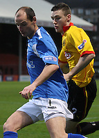 Partick Thistle v Queen of the South 261211