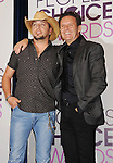 BEVERLY HILLS, CA - NOVEMBER 15: Jason Aldean and Mark Burnett attend the People's Choice Awards 2013 nomination announcements at The Paley Center for Media on November 15, 2012 in Beverly Hills, California.