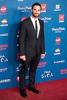 Dani Rovira attends to the photocall of the Gala Sida at Palacio de Cibeles in Madrid. November 21, 2016. (ALTERPHOTOS/Borja B.Hojas) //NORTEPHOTO.COM