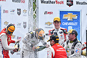 IMSA WeatherTech SportsCar Championship<br /> Chevrolet Sports Car Classic<br /> Detroit Belle Isle Grand Prix, Detroit, MI USA<br /> Saturday 3 June 2017<br /> 63, Ferrari, Ferrari 488 GT3, GTD, Alessandro Balzan, Christina Nielsen, 93, Acura, Acura NSX, GTD, Andy Lally, Katherine Legge, 48, Lamborghini, Lamborghini Huracan GT3, GTD, Bryan Sellers, Madison Snow<br /> World Copyright: Richard Dole<br /> LAT Images<br /> ref: Digital Image RD_DTW_17_0409