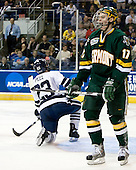 (Kevin Peel) Matt Marshall (Vermont - 17) - The University of Vermont Catamounts defeated the Yale University Bulldogs 4-1 in their NCAA East Regional Semi-Final match on Friday, March 27, 2009, at the Bridgeport Arena at Harbor Yard in Bridgeport, Connecticut.