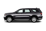Car Driver side profile view of a 2015 Dodge Durango SXT 5 Door Suv Side View