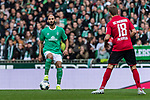 02.11.2019, wohninvest WESERSTADION, Bremen, GER, 1.FBL, Werder Bremen vs SC Freiburg<br /> <br /> DFL REGULATIONS PROHIBIT ANY USE OF PHOTOGRAPHS AS IMAGE SEQUENCES AND/OR QUASI-VIDEO.<br /> <br /> im Bild / picture shows<br /> Ömer Toprak / Oemer Toprak (Werder Bremen #21), <br /> <br /> Foto © nordphoto / Ewert