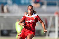 Cary, North Carolina  - Saturday August 19, 2017: Mallory Pugh during a regular season National Women's Soccer League (NWSL) match between the North Carolina Courage and the Washington Spirit at Sahlen's Stadium at WakeMed Soccer Park. North Carolina won the game 2-0.