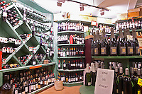 Wine shop. Sitges, Catalonia, Spain