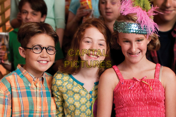 Preston Bailey, Jordana Beatty & recording artist Camryn .on the set of Judy Moody and the Not Bummer Summer.*Filmstill - Editorial Use Only*.CAP/FB.Supplied by Capital Pictures.