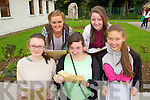 Students from Presentation Secondary School, Tralee, who received their Junior Cert results on Wednesday morning were l-r: Megan Horgan, Charlotte McDonagh, Sheila Gaynor, Rebecca Murphy and Natasha Knightly.