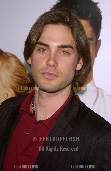 Actor DREW FULLER at the Los Angeles premiere of Win a Date With Tad Hamilton..January 9, 2004