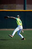 Jimmy Moore during the Under Armour All-America Tournament powered by Baseball Factory on January 19, 2020 at Sloan Park in Mesa, Arizona.  (Zachary Lucy/Four Seam Images)