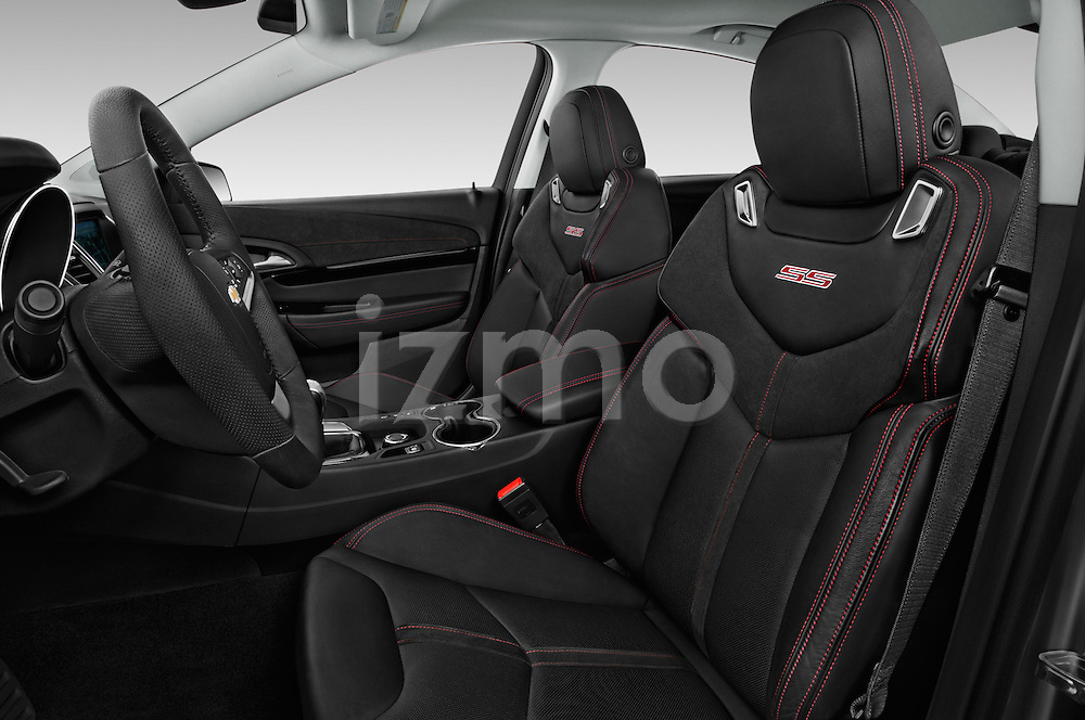 Front seat view of 2016 Chevrolet SS 6.2 4 Door Sedan Front Seat  car photos