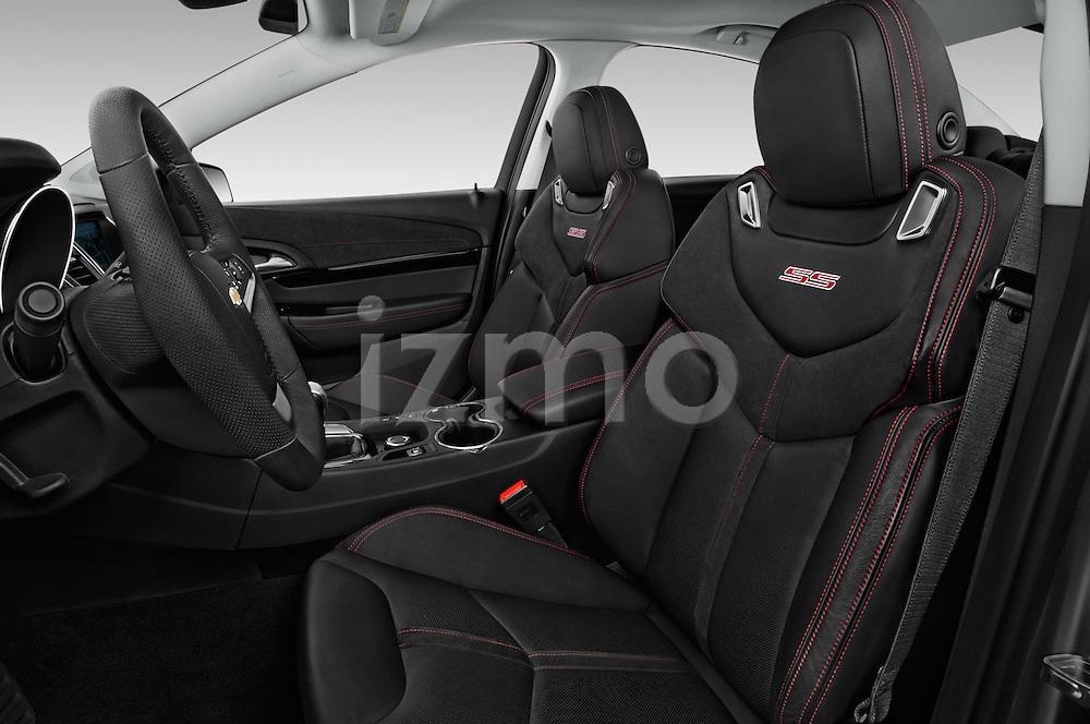 Front seat view of 2017 Chevrolet SS 6.2 4 Door Sedan Front Seat  car photos