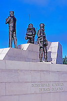 """Reconciliation: The Peacekeeping Monument"" (1992) (Artist Jack Harman), in the City of Ottawa, Ontario, Canada"