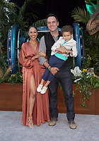 LOS ANGELES, CA - JUNE 12: Tamera Mowry-Housley, Adam Housley, Aden Housley, at Jurassic World: Fallen Kingdom Premiere at Walt Disney Concert Hall, Los Angeles Music Center in Los Angeles, California on June 12, 2018. Credit: Faye Sadou/MediaPunch