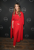 WEST HOLLYWOOD, CA - JANUARY 9: Delta Goodrem, at the Lifetime Winter Movies Mixer at Studio 4 at The Andaz Hotel in West Hollywood, California on January 9, 2019. Credit:Faye Sadou/MediaPunch