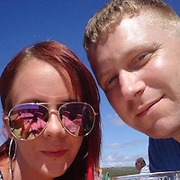 COPY BY TOM BEDFORD MEDIA<br /> Pictured: Natasha Bradbury (L) with boyfriend Luke Jones (R)<br /> Re: Dyfed Powys Police have confirmed that they have charged Luke Jones with the murder of Natasha Bradbury, a 28 year old mother in Haverfordwest, Pembrokeshire.<br /> Ms Bradbury's body was found in the early hours of Monday morning at a property in High Street, Haverfordwest.