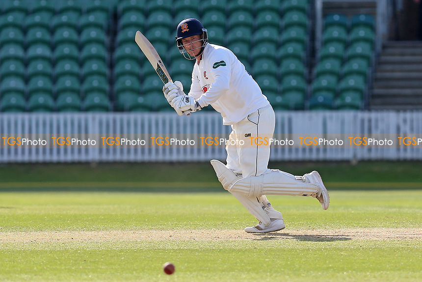 Tom Westley hits the winning runs for Essex during Somerset CCC vs Essex CCC, Specsavers County Championship Division 1 Cricket at The Cooper Associates County Ground on 16th April 2017