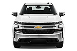 Car photography straight front view of a 2019 Chevrolet Silverado-1500 LT 4 Door Pick-up Front View