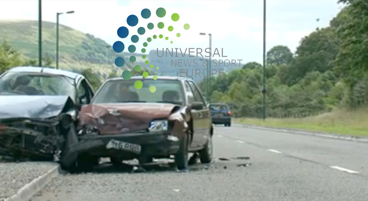 "A shocking video made for pupils in an attempt to stop car crashes caused by the driver texting while driving has become an ""internet sensation"" in the US with more than 1 million hits. As they return to school Americans are turning to the British video to keep their children safe.  It could also be aired on American TV. The short film, starring young actors from south Wales, shows a teenage girl killing four people after she uses her mobile phone to send a text.  Gwent Police said it hoped the graphic video would be shown in schools around Wales and hopefully the rest of the UK.  Research has shown texting while driving slows reaction time by 35%. The film by Peter Watkins-Hughes has also been posted on video sharing website You Tube. It shows in slow motion a crash caused after a girl, called Cassie, briefly loses concentration of the road while looking at her mobile. It also includes footage of all the emergency services attending the crash scene, including the air ambulance and firefighters. .Picture:  25 August 2009: Universal News and Sport (Scotland).All pictures must be credited to  www.universalnewsandsport.com.(0ffice) 0844 884 51 22.."