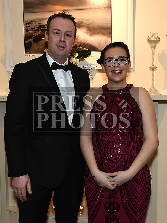 Keith Smith and Sarah Wilton at the Odie Wants to Walk Valentine Ball in the Glenside hotel. Photo:Colin Bell/pressphotos.ie