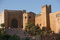 Afrique/Afrique du Nord/Maroc/Rabat: Afrique/Afrique du Nord/Maroc/Rabat: la kasbah des Oudaïas et la porte des Oudaïas