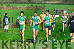 Action from the Senior mens 6km at the Kerry Cross Country finals in Firies on Sunday