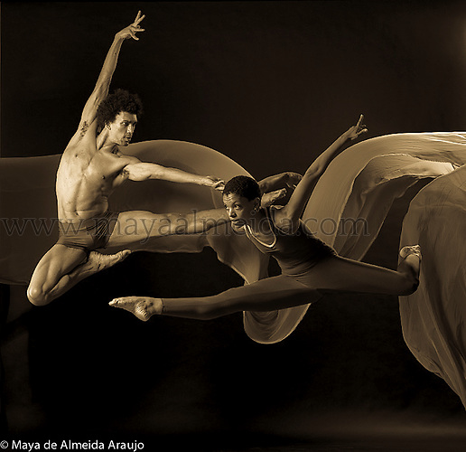 Shots of Dancers in New York Lois Greenfield Studio
